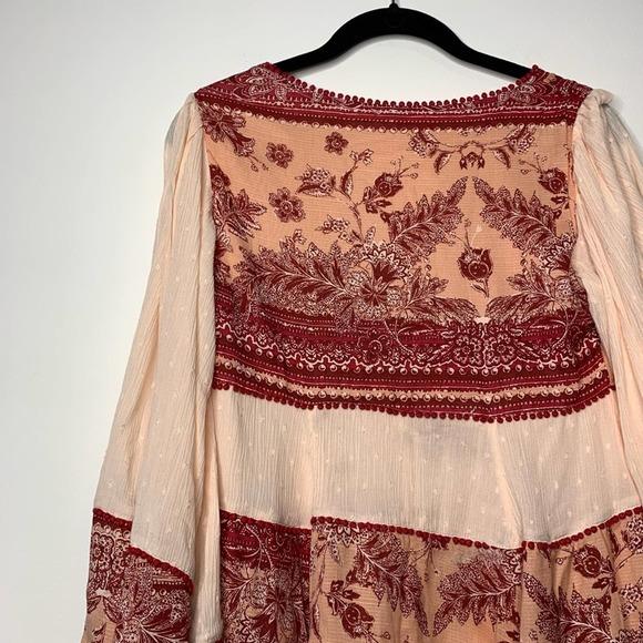 Free People Linen Blend Drop Waist | Summer dresses with